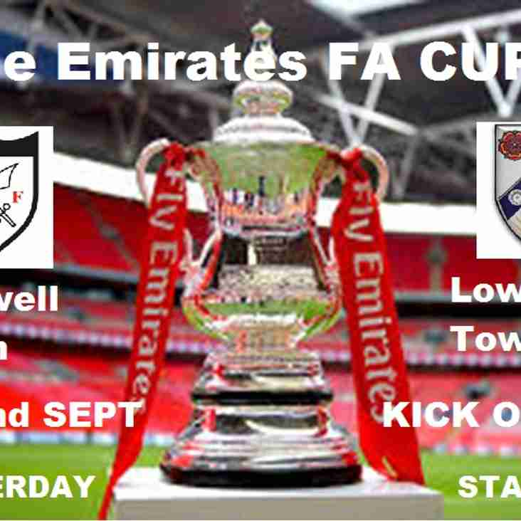 FA CUP Latest - Hanwell Town v Lowestoft Town