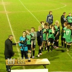 Sawston Girls FC - U16 League Cup Final - 10th May 2013