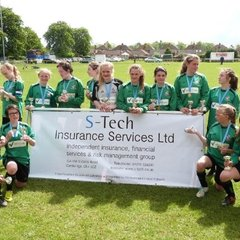 Sawston Girls FC - U13 League Cup Final - 10th May 2014