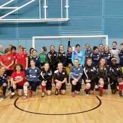 Sawston Girls U18 - Finish 2014 at top of Flexi-League