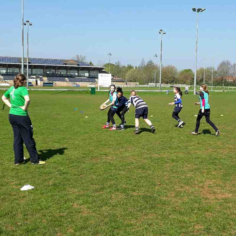 Training Day Sunday 9th April - Report by player Isabella Eillis (Team News Link)