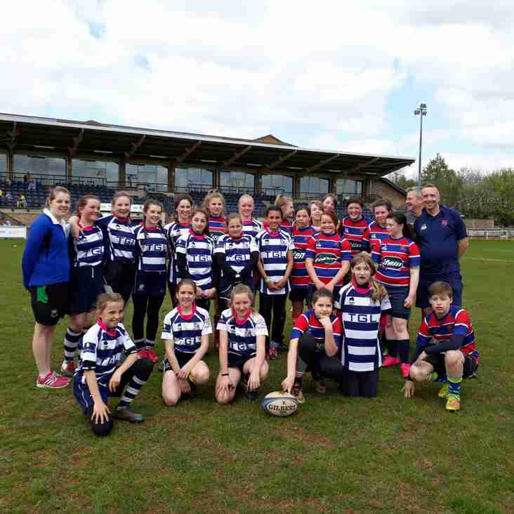 History is Made At Bodicote Park! by Chris Paige ( Banbury Girls Rugby Support)