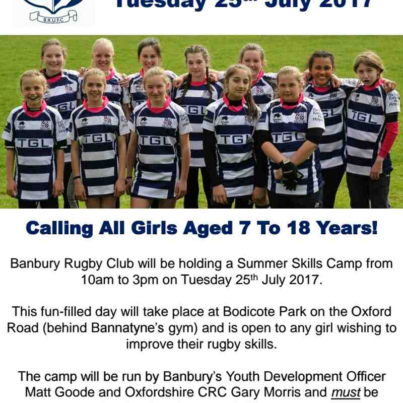 Rugby Camps Events