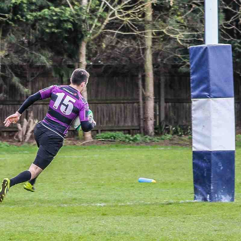 First XV Cup Final - 10th April 2016