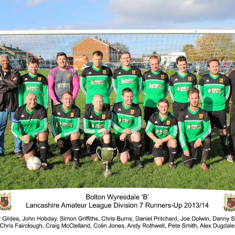 Bolton Wyresdale A Team beat Old Boltonians B 3 - 2