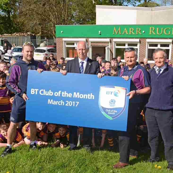 BT Club of the Month!