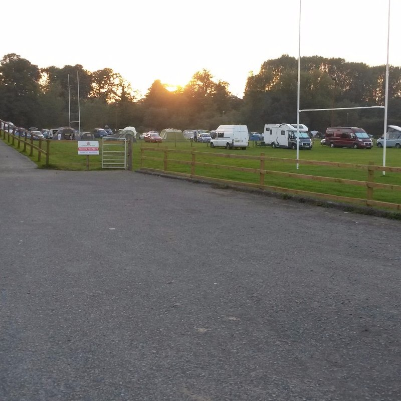 Ludlow Spring Festival Camping full Up