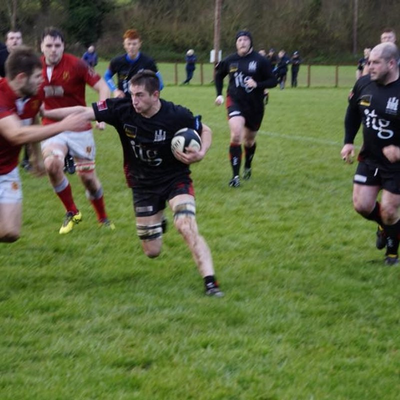 Ludlow push Witchurch close, Christmas Lunch on the 9th and RFU tickets
