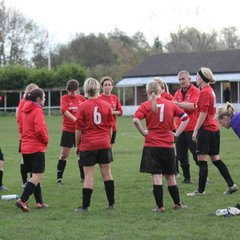 Ladies v Leamington 2.11.14 - courtesy of Tim Nunan
