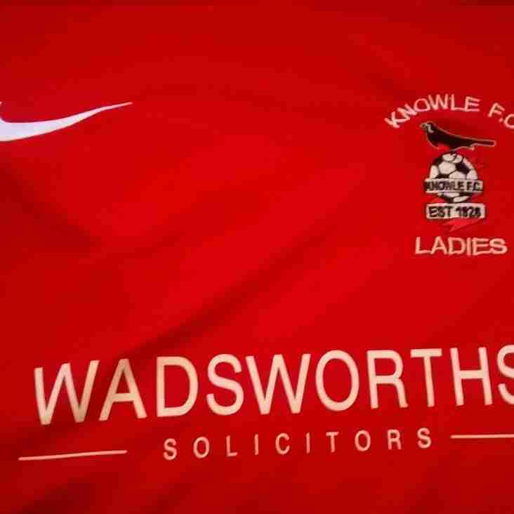 New Sponsor for Knowle Ladies