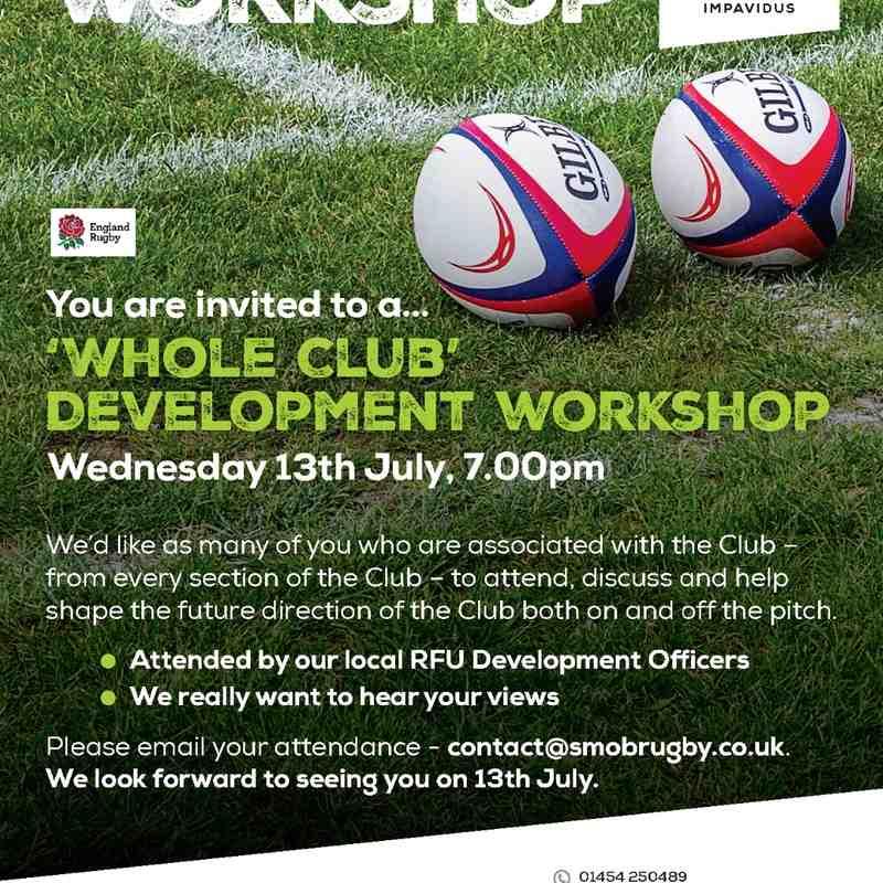 Club Development Workshop
