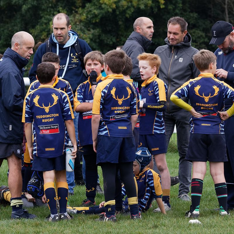 Teddington RFC U11 vs. Bushy Park Joint Training with London Scottish RFC U11