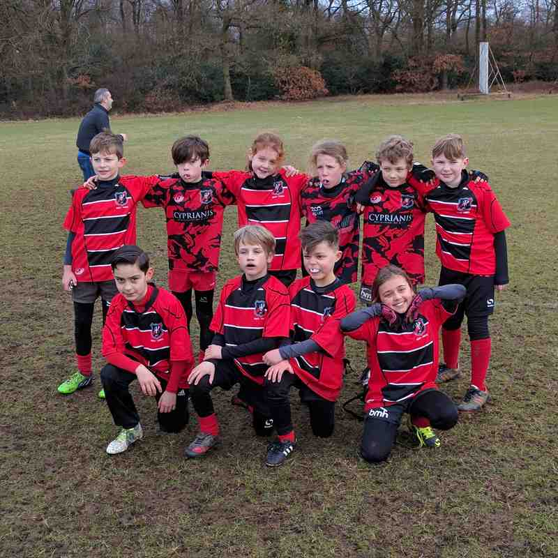U9s v Bromley - 29th January