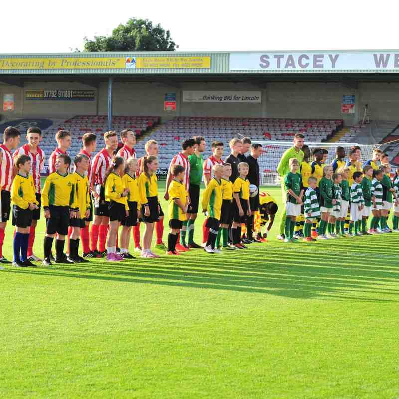 Matty Ellis Memorial Trophy - Lincoln City U18 v Arsenal U18 22/7/14