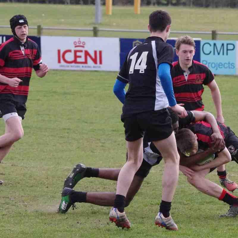 U16 Eastern Counties Final - (Wymondham & Cambridge - won both 34-0 & 10-5)