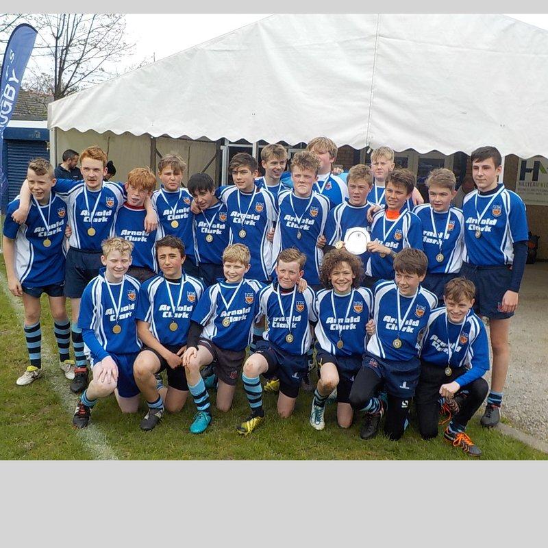 Winnngton Park U13s Win Cheshire Plate Final