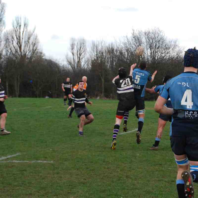 2nd XV vs Romford 04/03/17