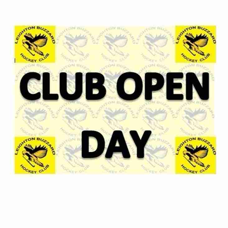 Club Open Day