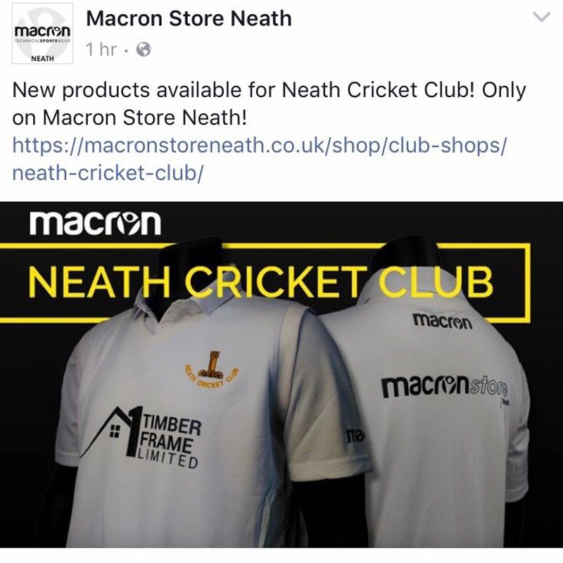 New Club kit web-store for 2018 season