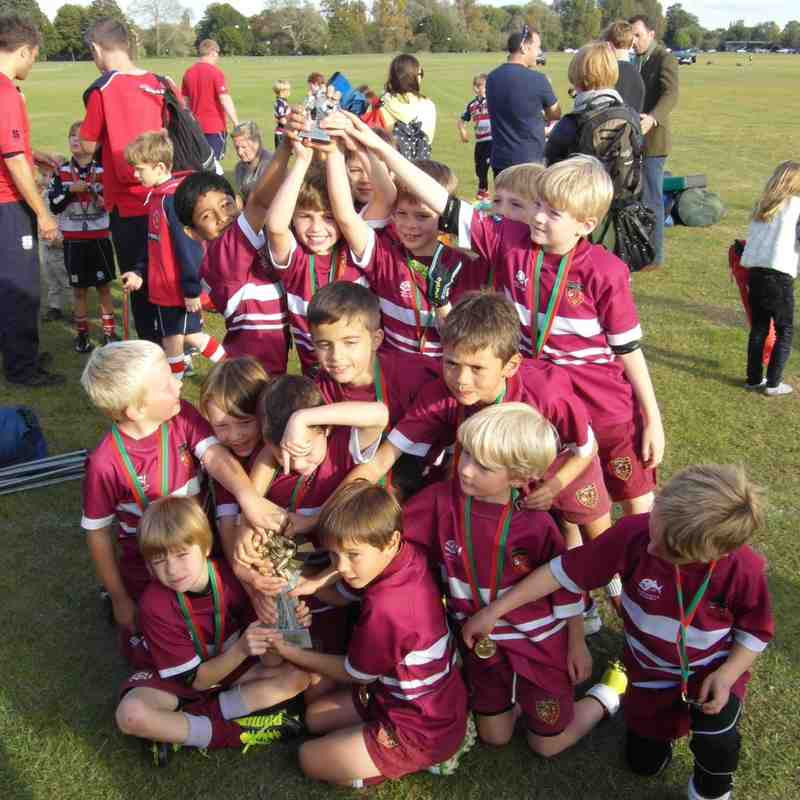 Under 8's Success at Windsor
