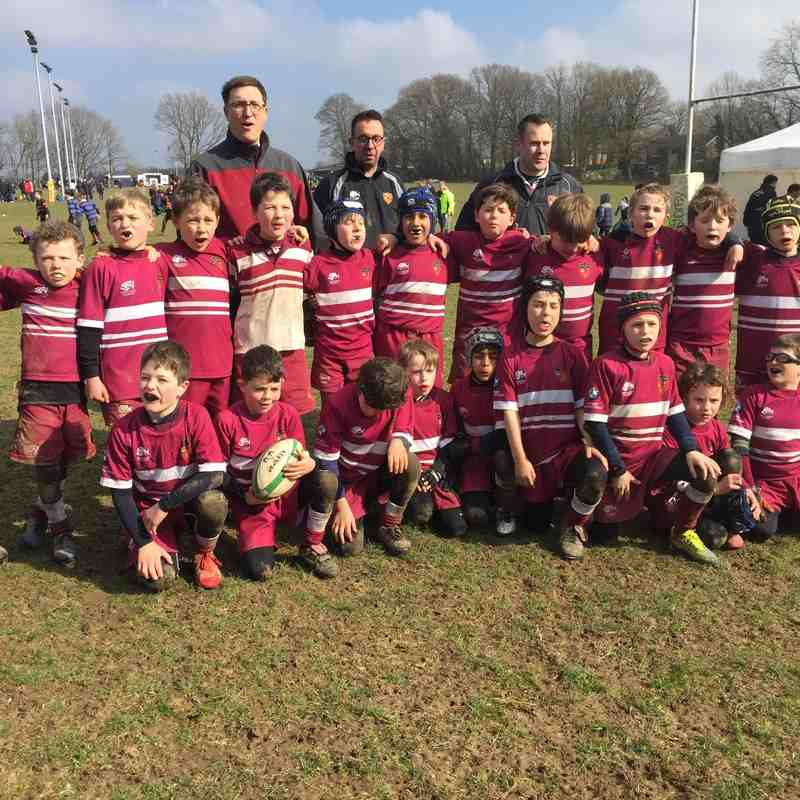 U9 Winners at A&C Home Tournament 2016