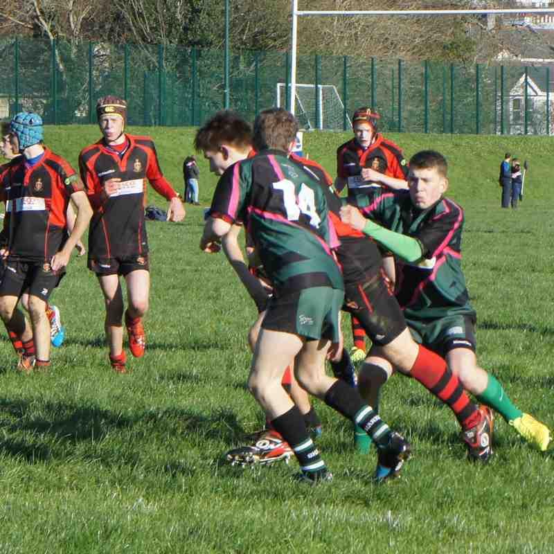 Sharks U15's V Tavistock