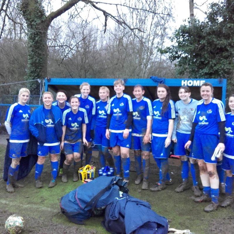 Ladies beat Rothwell Ladies Reserves 8 - 0