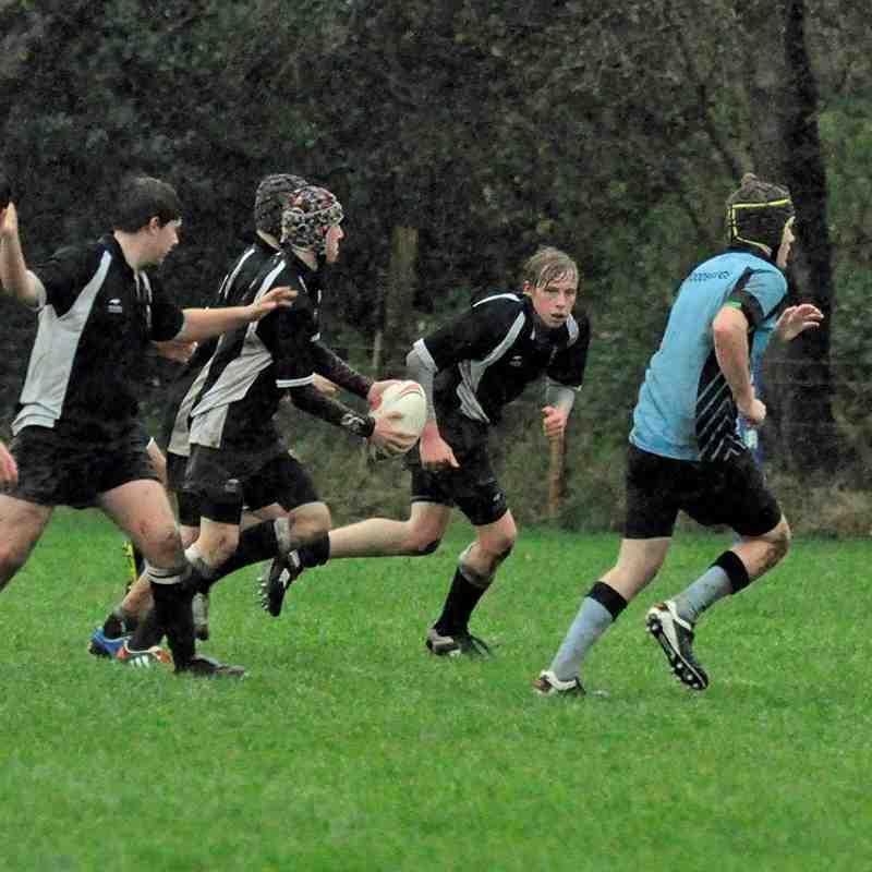 Woodbridge v CRFC U15's