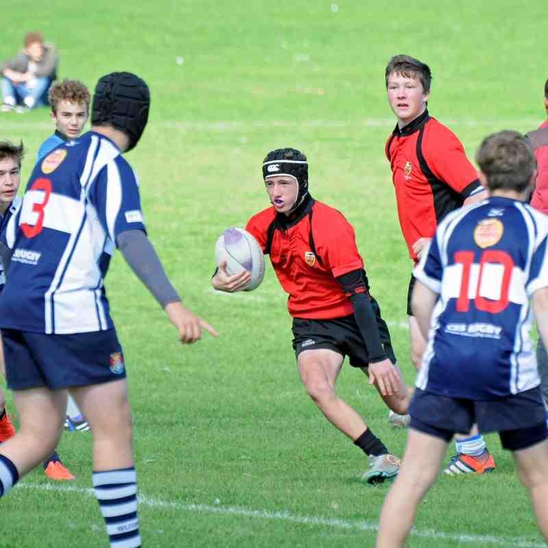 CRFC U16's at Suffolk 7's