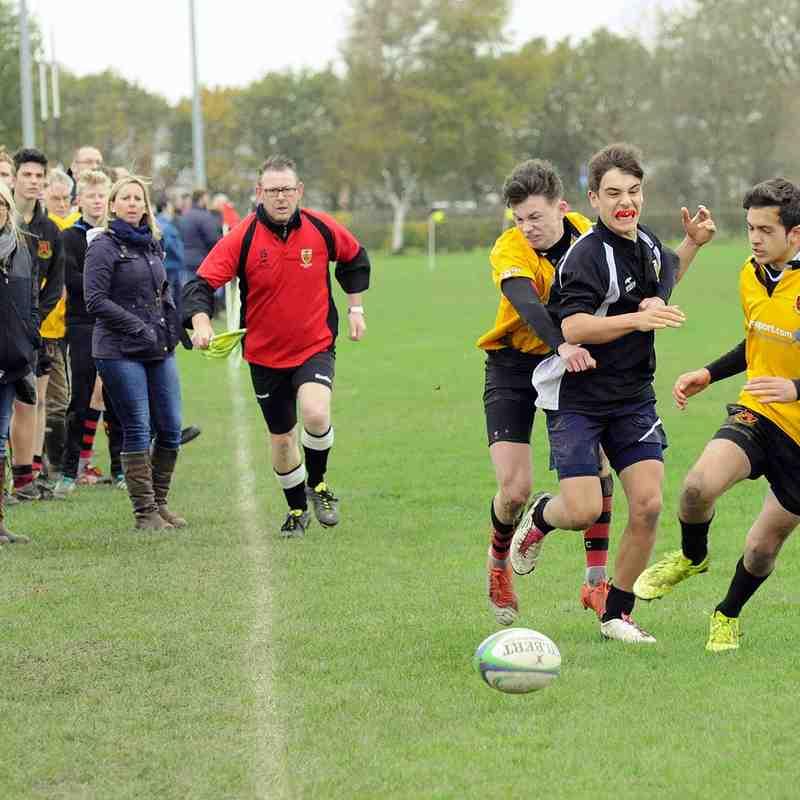 CRFC U16s v Wymondham 08/11/2015