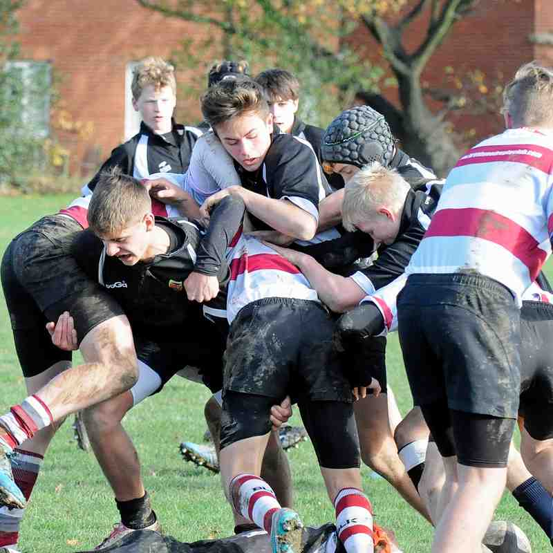 CRFC U16s v Brentwood 22/1/2015