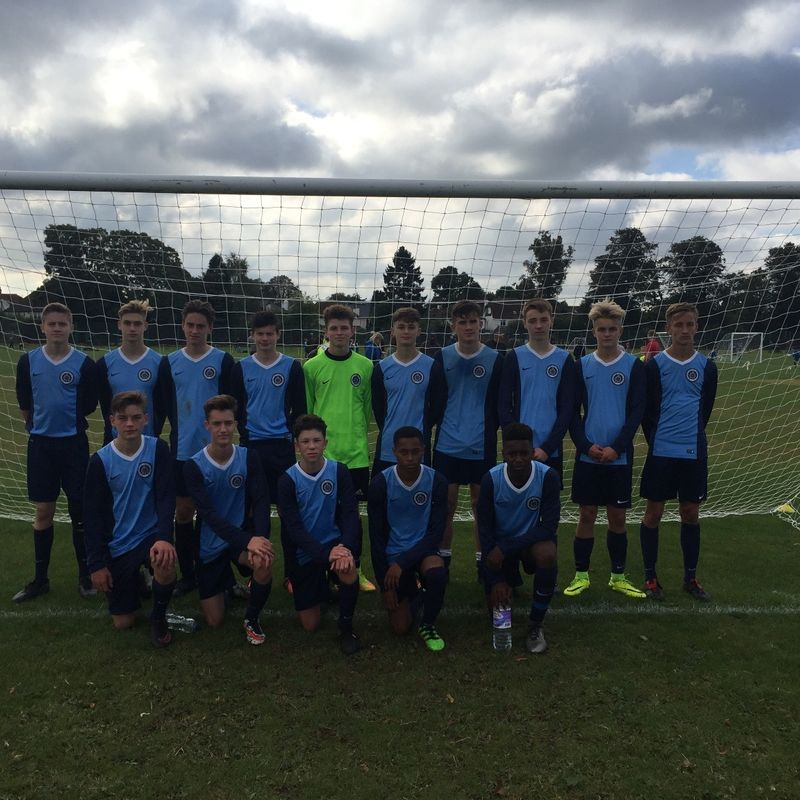 U16 Blues lose to Dorking Wanderers Youth 4 - 3