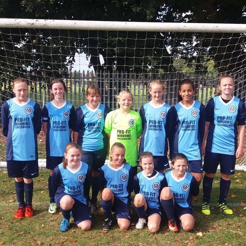 U13 Girls lose to Walton Casuals Juniors FC Jewels 0 - 1
