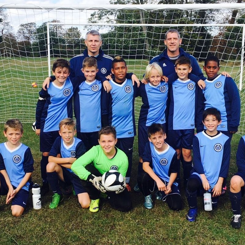U12 Blues lose to Spelthorne Sports Sky 4 - 0