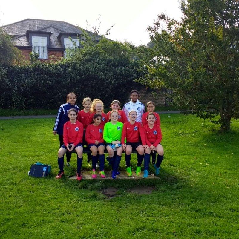 U13 Girls lose to Colne Valley Girls FC 0 - 3
