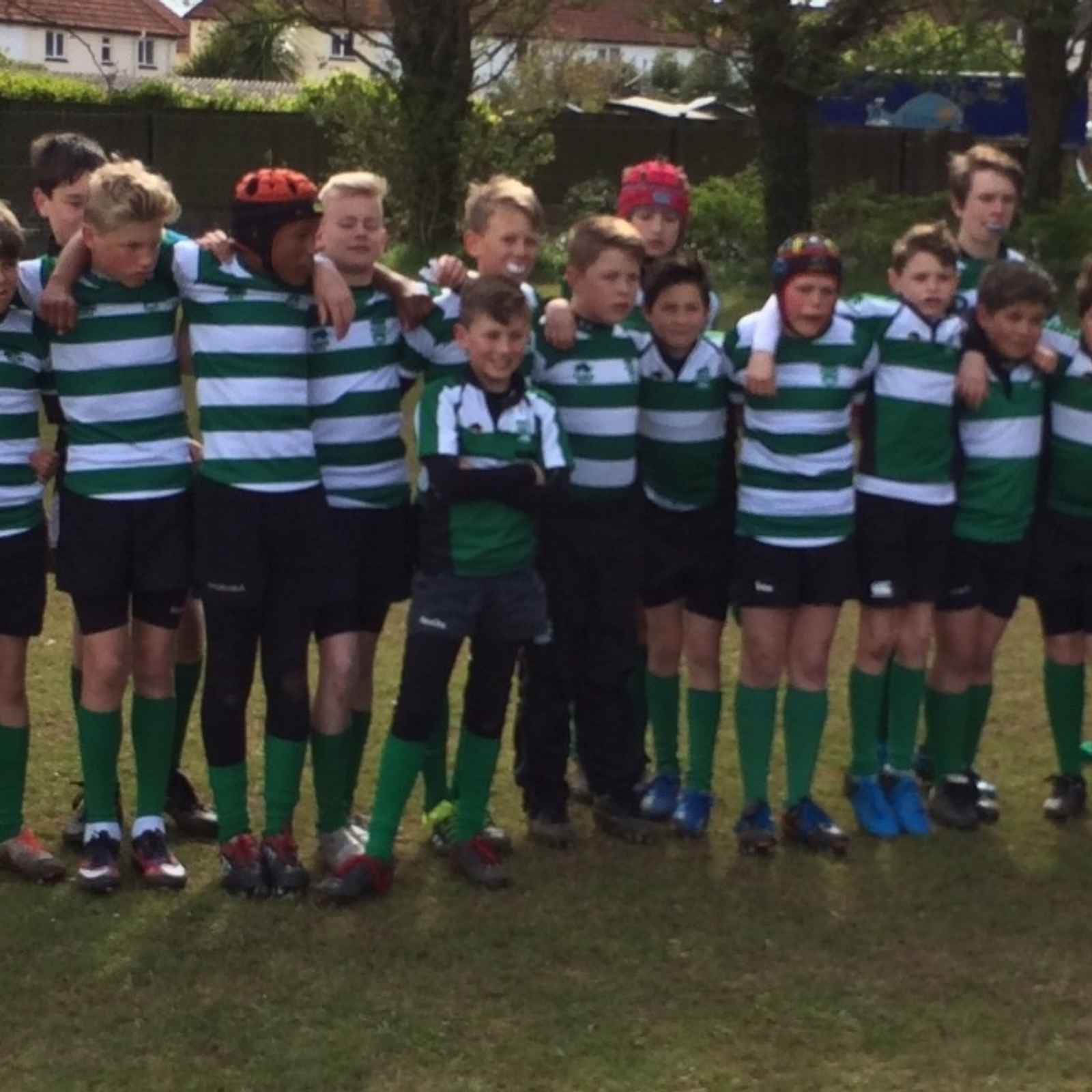 "Dorchester RFC u12s champions again - winning prestigious ""Tigers Tours"" trophy"