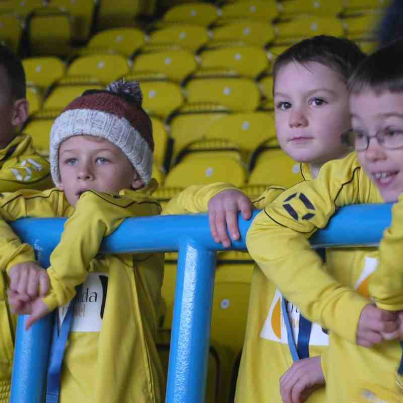 OJFC at Elland Road, Leeds