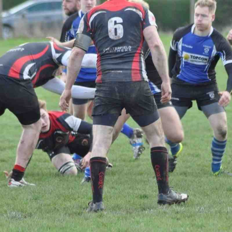2015/2016 GY 1st XV v Chesterfield Panthers lost 6-9