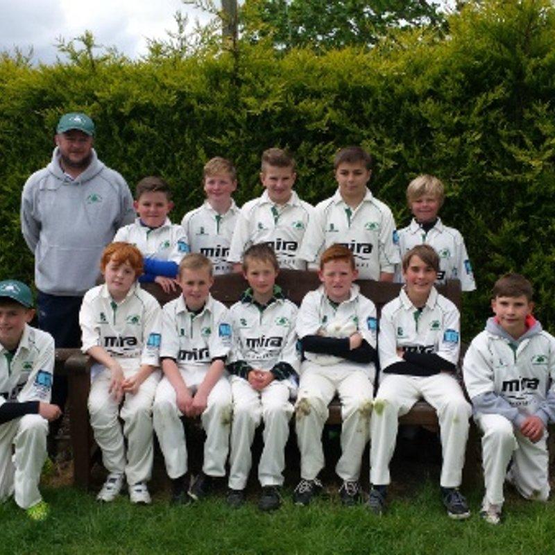 Corse & Staunton CC - Under 13 149/3 - 85/5 Down Hatherley CC - Under 13