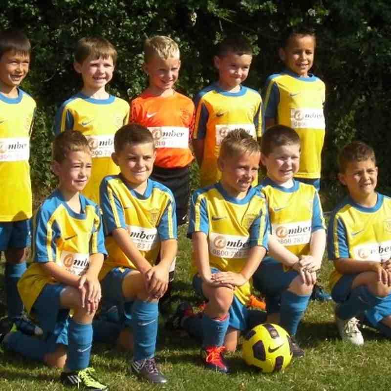 Ben Roberts Team - Under 8's (2011/12 Season)
