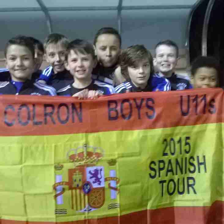Under 11's To Play At The Nou Camp !!