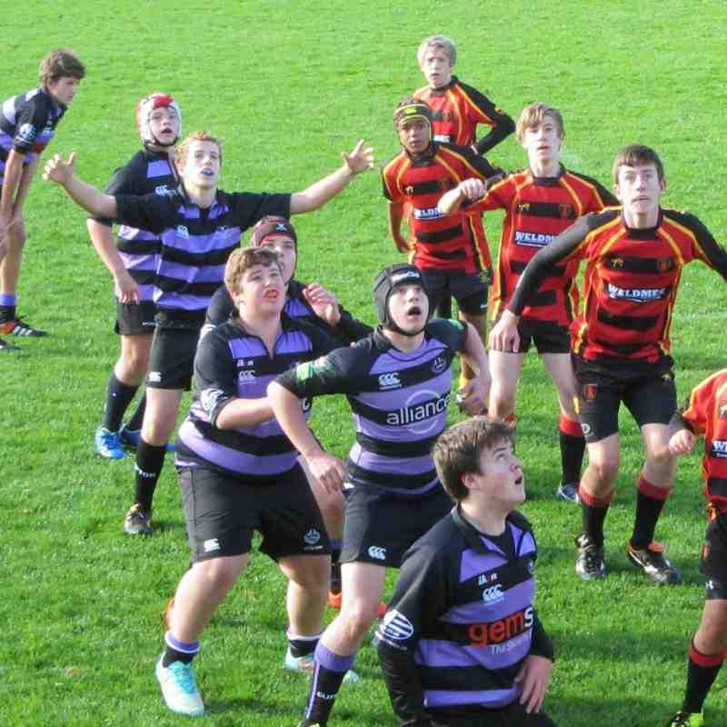 U14s vs Thornbury