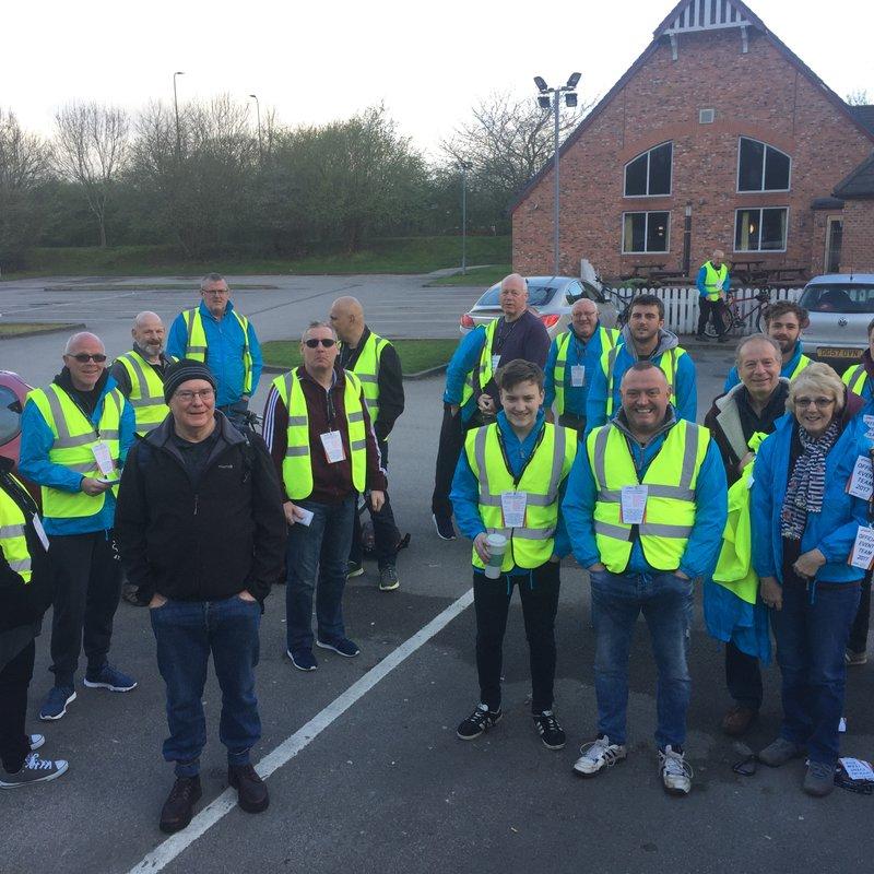 Marathon donation - £1087.50