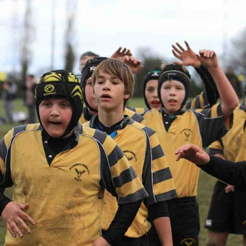 U13 vs Wasps (Dec 2012)