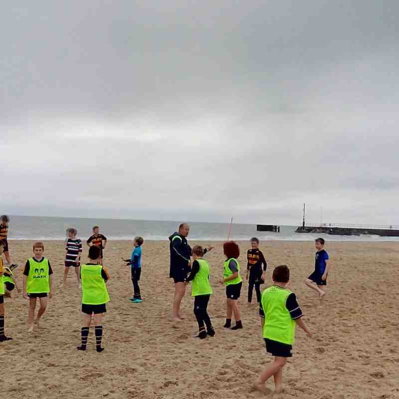 Minis Beach Training u11&u12