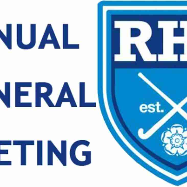 Annual General Meeting - CANCELLED