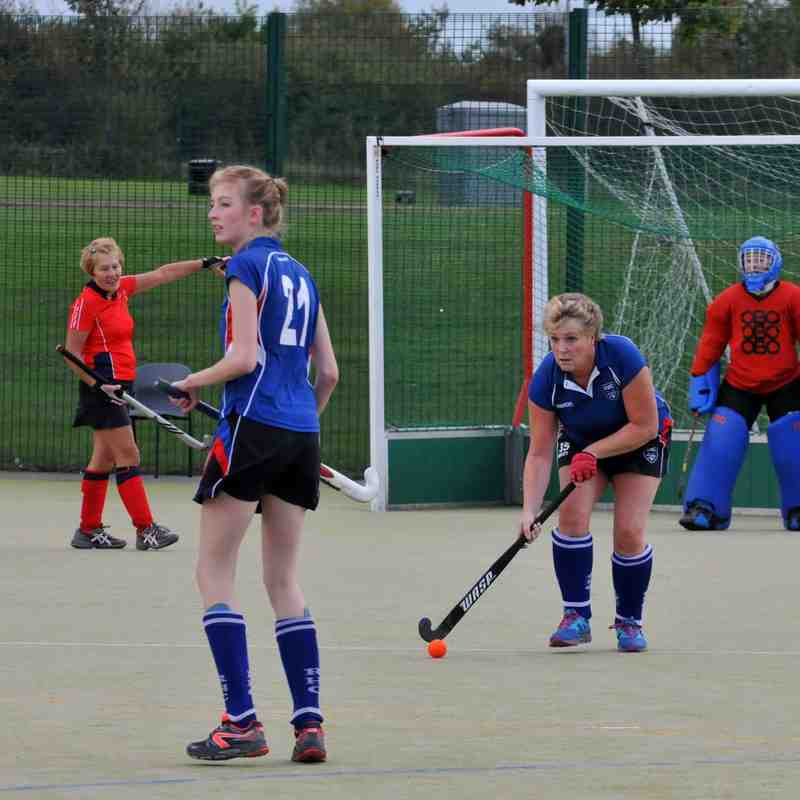 Ladies 2nd Team - 04 October 2014