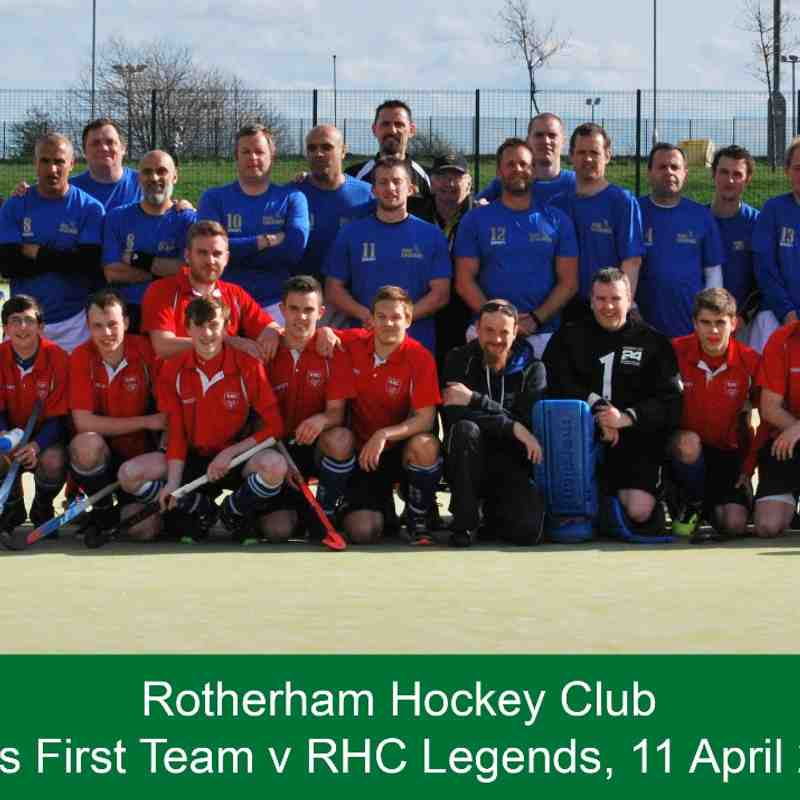 Men's 1st Team v RHC Legends - 11 April 2015