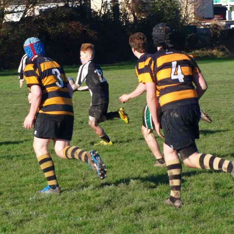 Nailsea & Backwell v Hornets u13's - 18th Jan 2015