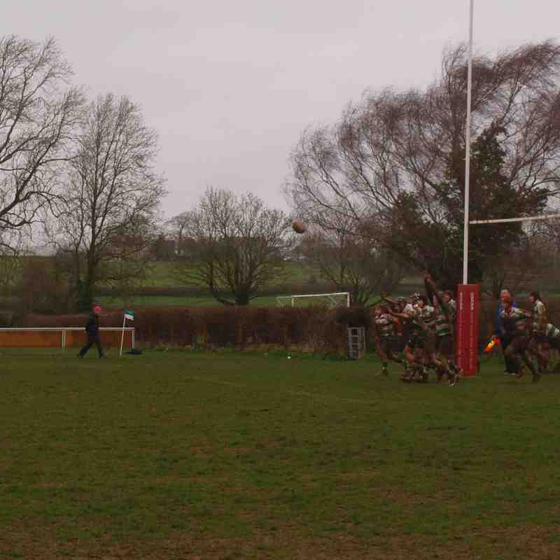 Nailsea & Backwell away to Chew Valley u15's - 29/03/2015